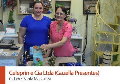 Celeprin e Cia Ltda (Gazella Presentes)