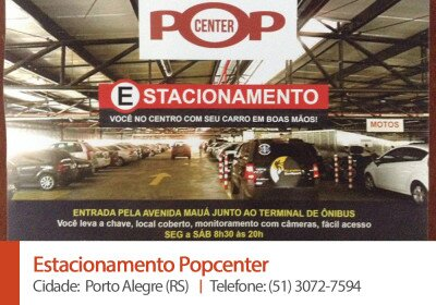 Estacionamento Popcenter