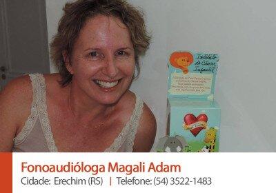 Fonoaudióloga Magali Adam