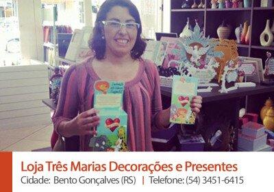 Loja Tres Marias Decoracoes e Presentes