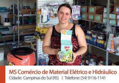 MS Comercio de Material Eletrico e Hidraulico