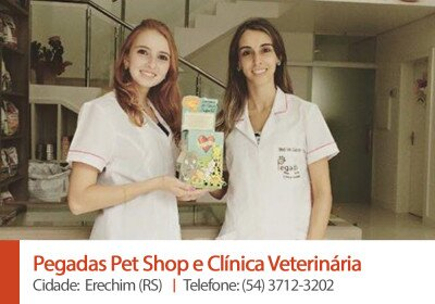 Pegadas Pet Shop e Clinica Veterinaria